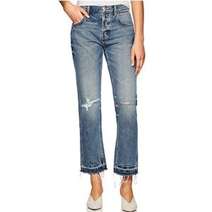 CURRENT/ELLIOTT Throwback Original Straight Jeans